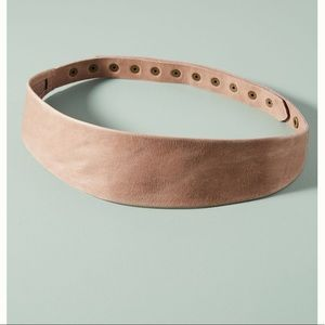 NWT • Anthropologie • Naomi Studded Leather Belt